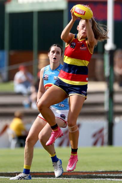 AUS: AFLW Rd 6 - Adelaide v Gold Coast