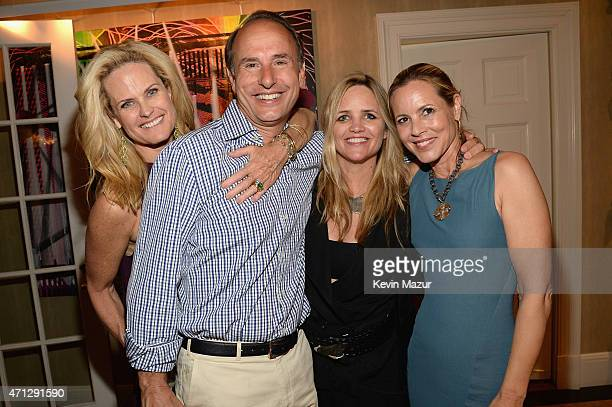Ashley and Jeff McDermott Clare Munn and Maria Bello attend the Maria Bello WhateverLove Is Love Book Party on April 26 2015 in New York City