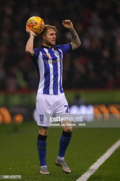 Ashley Baker of Sheffield Wednesday during the Sky Bet Championship match between Sheffield United and Sheffield Wednesday at Bramall Lane on...