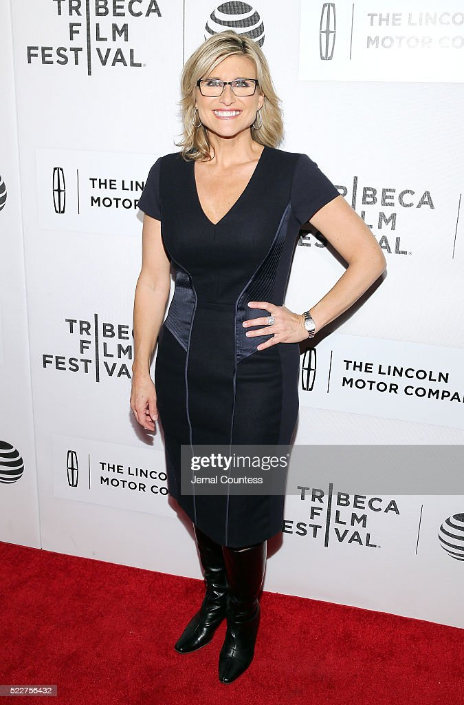 Ashley Banfield attends 'A Hologram For The King' World Premiere at the John Zuccotti Theater at BMCC Tribeca Performing Arts Center on April 20, 2016 in New York City.