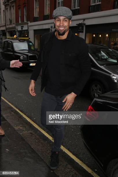 Ashley Banjo attend the Disney on Ice The Mouse Bounce Launch Party on February 15 2017 in London England
