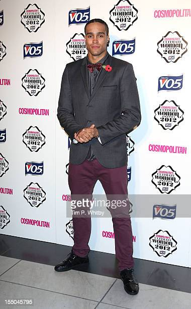 Ashley Banjo attends the Cosmopolitan Ultimate Woman of the Year awards at Victoria Albert Museum on October 30 2012 in London England