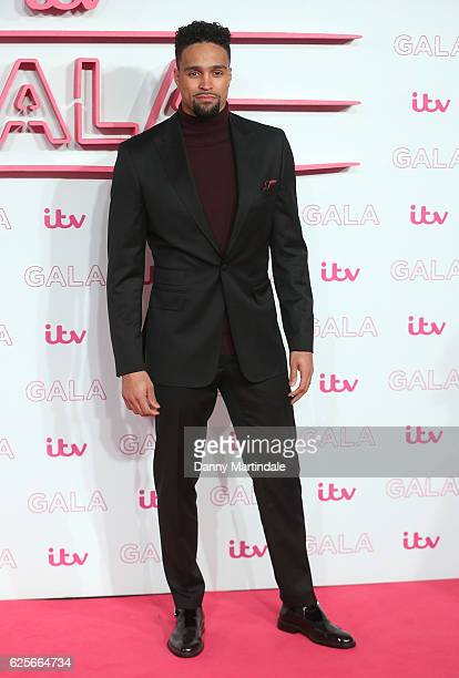 Ashley Banjo attends the ITV Gala at London Palladium on November 24 2016 in London England