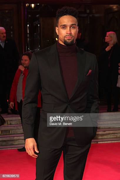 Ashley Banjo attends the ITV Gala hosted by Jason Manford at London Palladium on November 24 2016 in London England