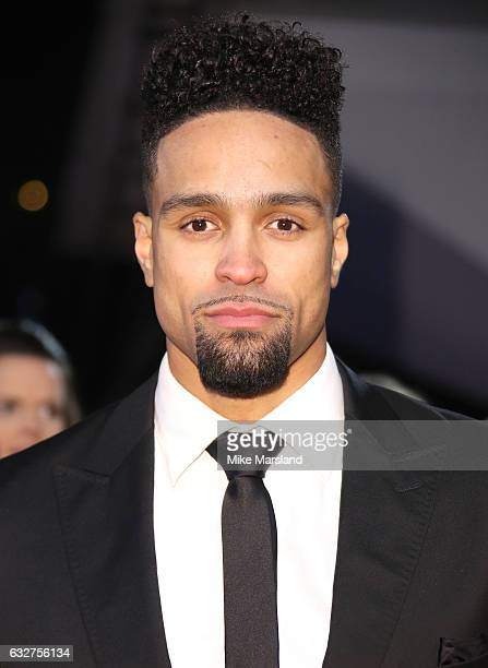 Ashley Banjo attends the National Television Awards at The O2 Arena on January 25 2017 in London England