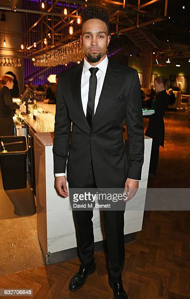 Ashley Banjo attends the National Television Awards cocktail reception at The O2 Arena on January 25 2017 in London England