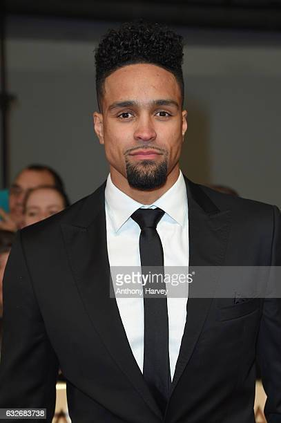 Ashley Banjo attends the National Television Awards on January 25 2017 in London United Kingdom