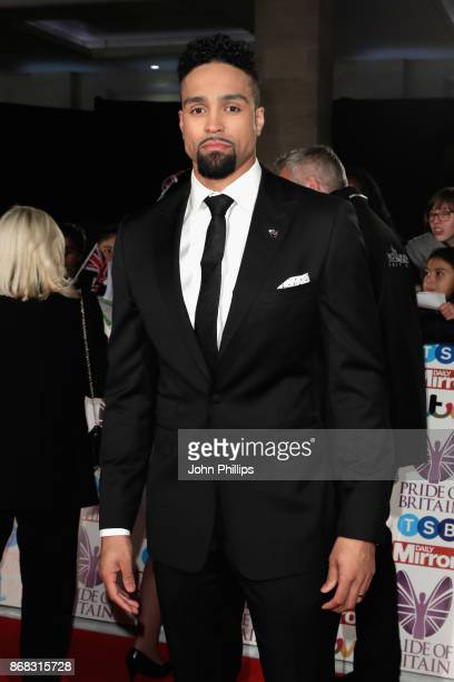 Ashley Banjo attends the Pride Of Britain Awards at Grosvenor House on October 30 2017 in London England