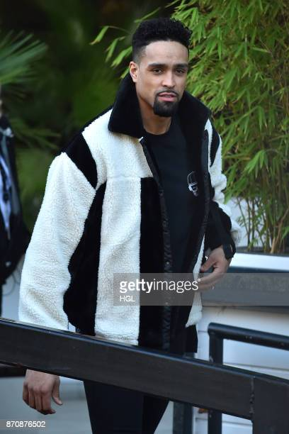 Ashley Banjo seen at the ITV Studios on November 6 2017 in London England