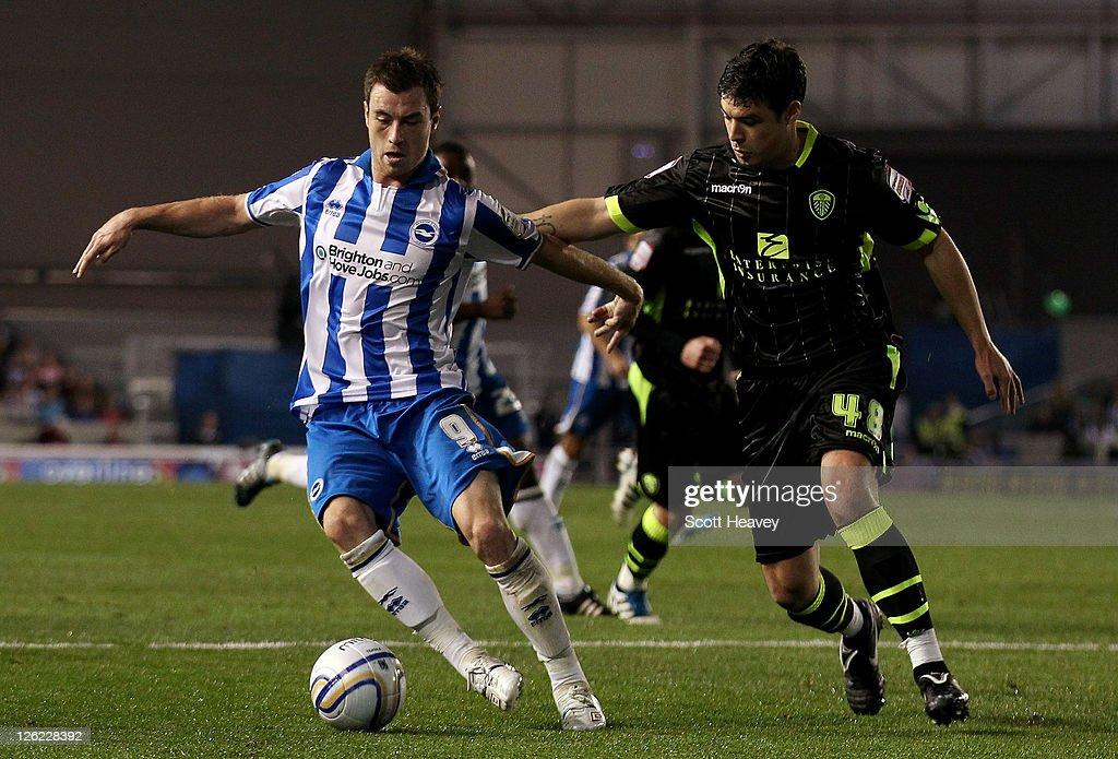 Brighton & Hove Albion v Leeds United - npower Championship : News Photo