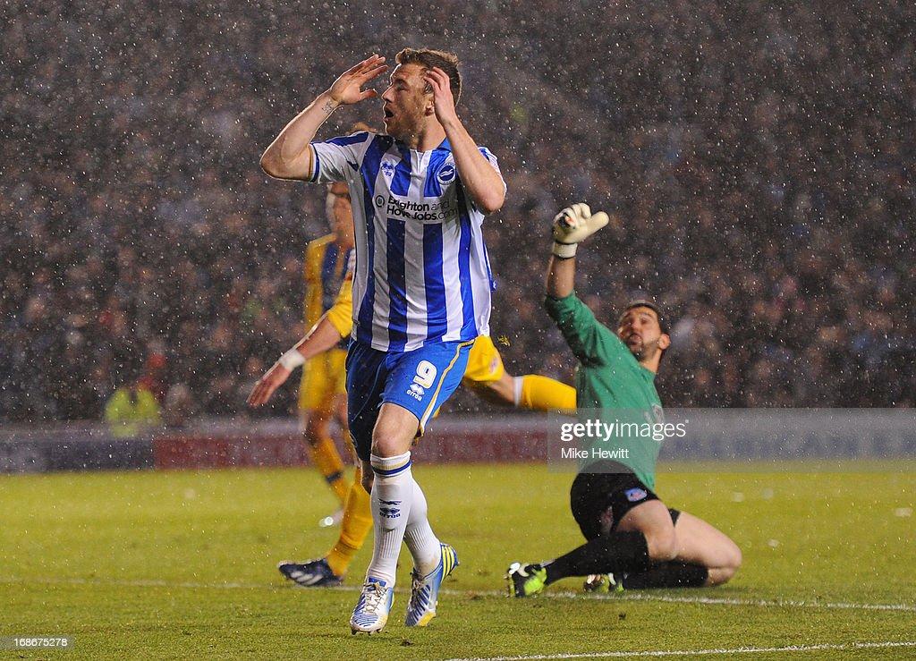 Brighton & Hove Albion v Crystal Palace - npower Championship Play Off Semi Final: Second Leg : News Photo