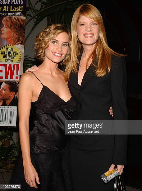 Ashley Bashioum and Michelle Stafford during 19th Annual Soap Opera Digest Awards Reception Arrivals at White Lotus in Hollywood California United...