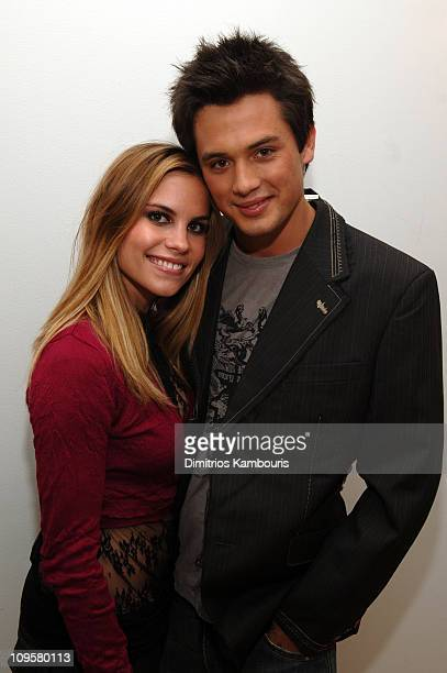Ashley Bashioum and Stephen Colletti during New Year's Eve 2006 in New York City MTV New Year's Bash at MTV Studios in New York City New York United...