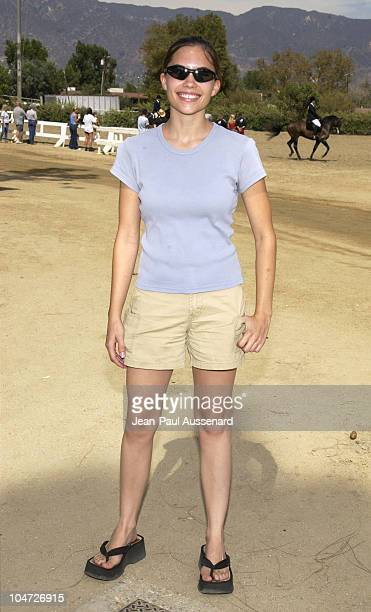 Ashley Bashioum during Festival of the Animals A pet fair to benefit Animal Rescue Organisations at The Equestrian Center in Burbank California...