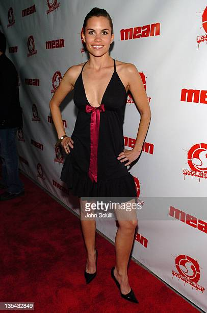 Ashley Bashioum during Mean Magazine Celebrates Their April/May Issue at Nacional in Los Angeles California United States
