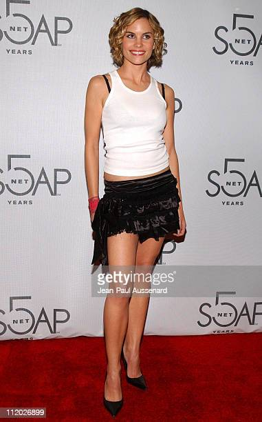 Ashley Bashioum during SOAPnet 5th Anniversary Party at Bliss in Los Angeles California United States