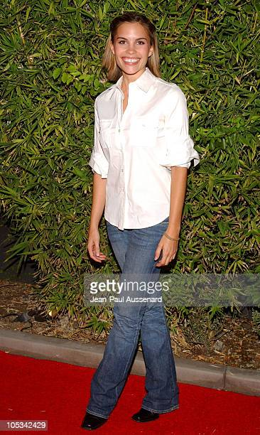 Ashley Bashioum during SOAPnet Fall 2004 Launch Party at Falcon in Hollywood California United States