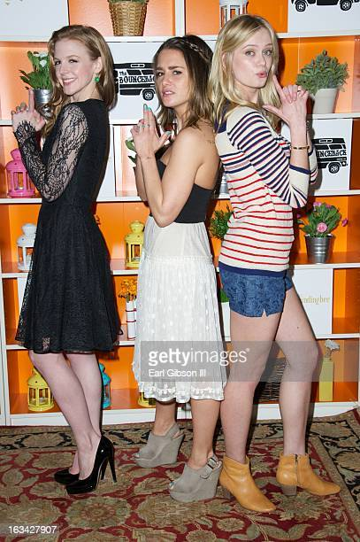 Ashley Bell Addison Timlin and Sara Paxton attend 'The Branding Bee Presents The World Premire AfterParty of The BounceBack Live From The Hive' at...