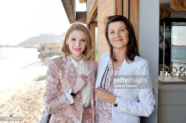 Ashley Bell and Daphne Zuniga attend Breguet Marine Collection Launch at Little Beach House Malibu on July 11 2019 in Malibu California