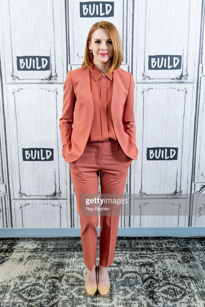 Ashley Bell discusses 'Love & Bananas' with the Build Series at Build Studio on April 26, 2018 in New York City.