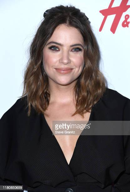 Ashley Benson arrives at the 2nd Annual Girl Up #GirlHero Awards at the Beverly Wilshire Four Seasons Hotel on October 13, 2019 in Beverly Hills,...