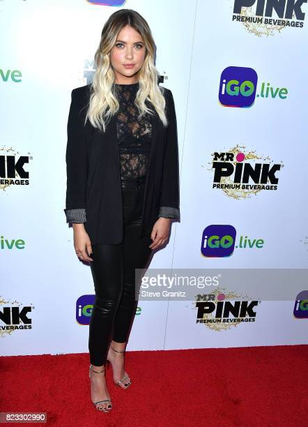 Ashley Benson arrives at the iGolive Launch Event at the Beverly Wilshire Four Seasons Hotel on July 26 2017 in Beverly Hills California