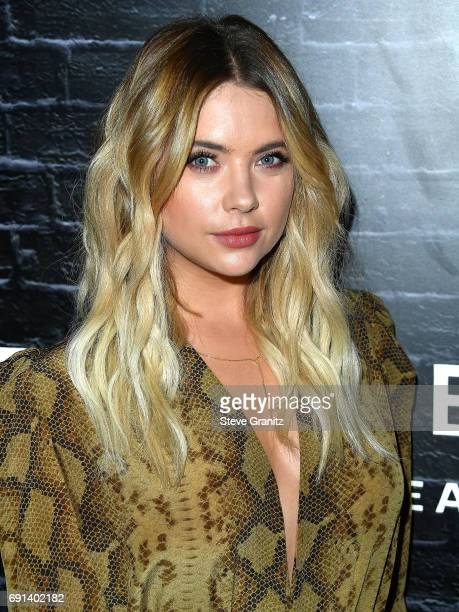 Ashley Benson arrives at the Prive Revaux Launch Event at Chateau Marmont on June 1 2017 in Los Angeles California