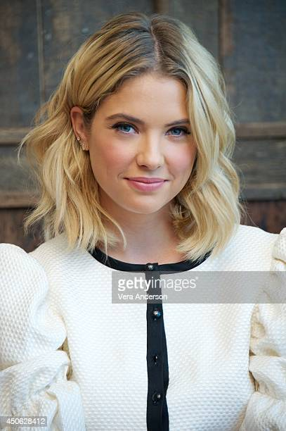 Ashley Benson at the 'Pretty Little Liars' Press Conference at Soho House on June 13 2014 in West Hollywood California