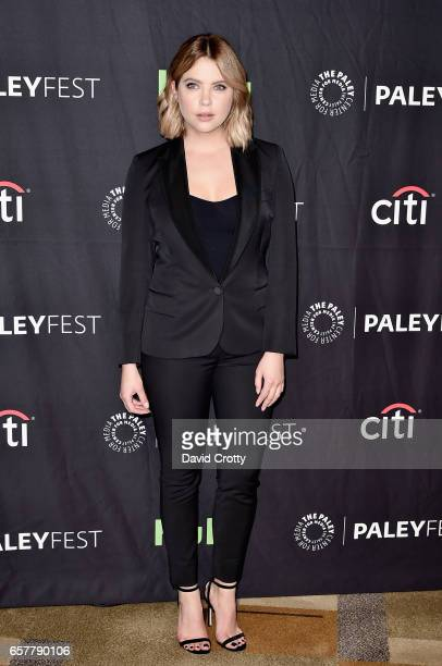 Ashley Benson attends PaleyFest Los Angeles 2017 'Pretty Little Liars' at Dolby Theatre on March 25 2017 in Hollywood California