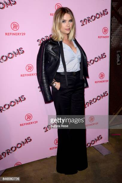 Ashley Benson attends Refinery29's '29Rooms Turn It Into Art' at 106 Wythe Ave on September 7 2017 in New York City