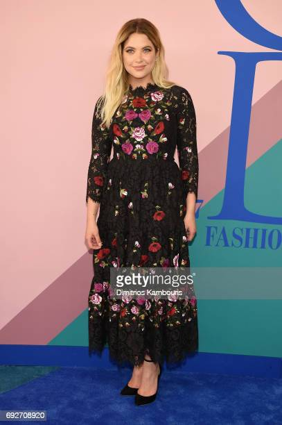 Ashley Benson attends the 2017 CFDA Fashion Awards at Hammerstein Ballroom on June 5 2017 in New York City