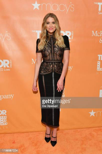 Ashley Benson attends the 2019 TrevorLIVE New York Gala at Cipriani Wall Street on June 17, 2019 in New York City.