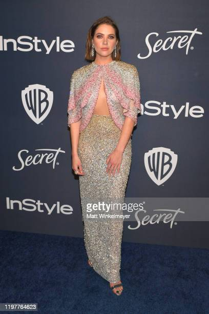 Ashley Benson attends The 2020 InStyle And Warner Bros. 77th Annual Golden Globe Awards Post-Party at The Beverly Hilton Hotel on January 05, 2020 in...
