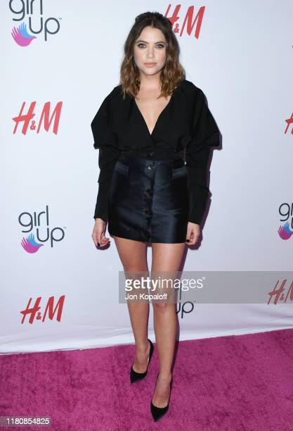 Ashley Benson attends the 2nd Annual Girl Up #GirlHero Awards at the Beverly Wilshire Four Seasons Hotel on October 13, 2019 in Beverly Hills,...