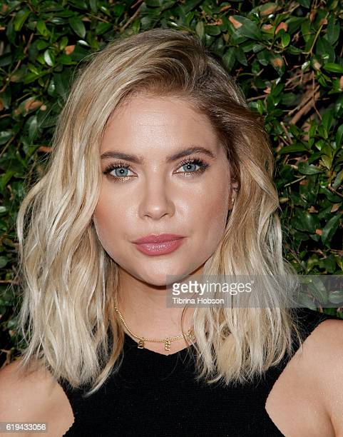 Ashley Benson attends the celebration for 'Pretty Little Liars' final season at Siren Studios on October 29, 2016 in Hollywood, California.