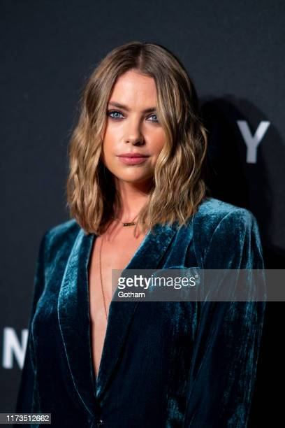 Ashley Benson attends the DKNY 30th anniversary party at St. Ann's Warehouse on September 09, 2019 in New York City.