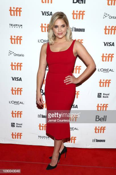 Ashley Benson attends the Her Smell premiere during 2018 Toronto International Film Festival at Winter Garden Theatre on September 9 2018 in Toronto...