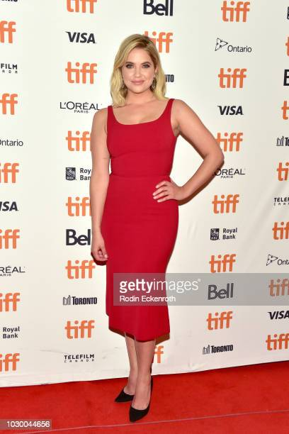 "Ashley Benson attends the ""Her Smell"" premiere during 2018 Toronto International Film Festival at Winter Garden Theatre on September 9, 2018 in..."