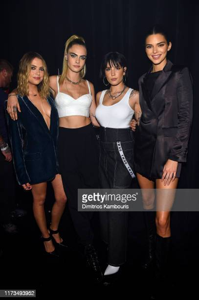 Ashley Benson Cara Delevingne Halsey and Kendall Jenner attend as DKNY turns 30 with special live performances by Halsey and The Martinez Brothers at...