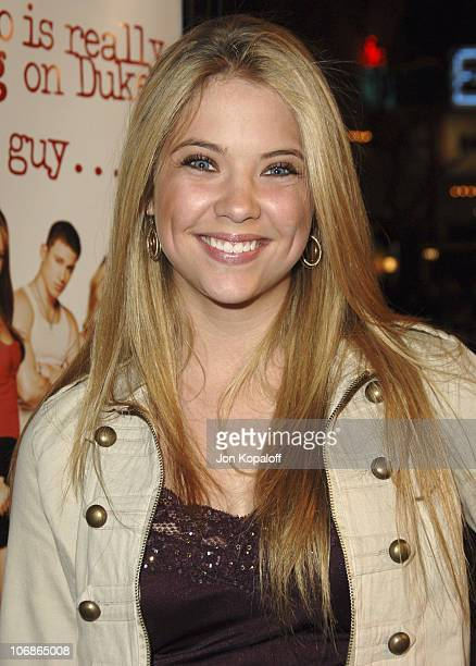 """Ashley Benson during DreamWorks' """"She's the Man"""" Los Angeles Premiere - Red Carpet at Mann's Village in Westwood, California, United States."""