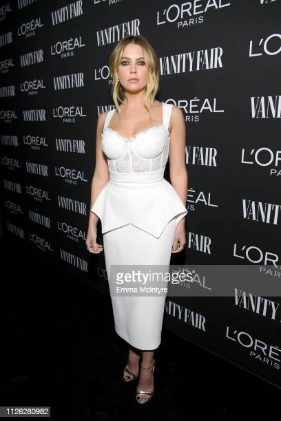 Ashley Benson is seen as Vanity Fair and L'Oréal Paris Celebrate New Hollywood on February 19, 2019 in Los Angeles, California.