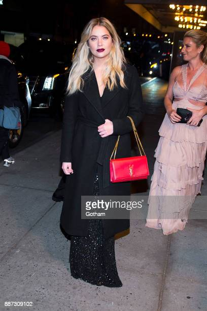 Ashley Benson is seen in Midtown on December 6 2017 in New York City