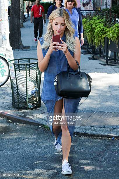 Ashley Benson is seen on July 23 2015 in New York City