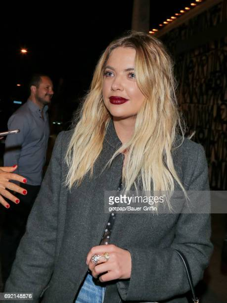 Ashley Benson is seen on June 03 2017 in Los Angeles California
