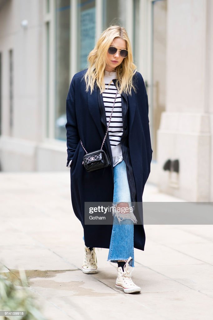 Street Style - New York City - February 2018 : Photo d'actualité