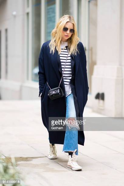 Ashley Benson is seen wearing Prive Revaux sunglasses in Tribeca on February 3 2018 in New York City