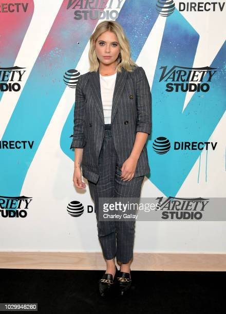 Ashley Benson stops by DIRECTV House presented by ATT during Toronto International Film Festival 2018 at Momofuku Toronto on on September 9 2018 in...