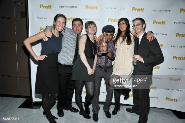 Ashley Berger Leonardo Gomez Amber Myers Sam Ghosh Kate Unver and Kevin Andreano attend 2010 PRATT Institute Honors Catherine Malandrino After Party...