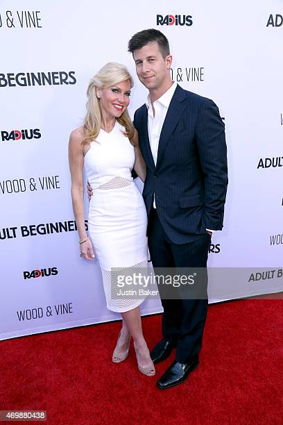 Ashley Bernon and Producer Paul Bernon attend the premiere of RADiUS' Adult Beginners at ArcLight Hollywood on April 15 2015 in Hollywood California