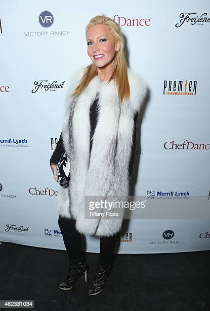 Ashley Bernon attends ChefDance 2015 presented by Victory Ranch and sponsored by Merrill Lynch Freixenet Anchor Distilling and Premier Meat Co on...